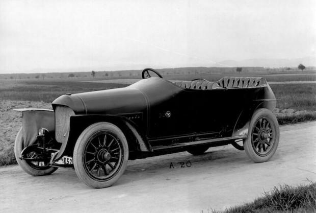 Benz 80 PS Prinz-Heinrich-Wagen of 1910