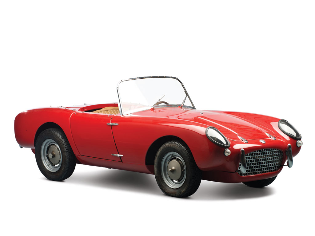 What Kind Of Sports Car Was Used In Red