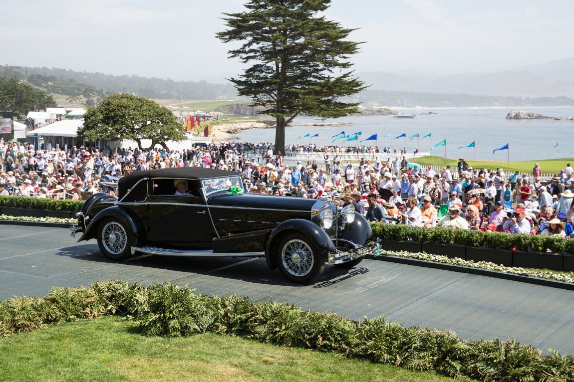 Pebble beach concours 2015 class winners photo gallery for Pebble beach collection