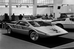 Maserati Boomerang at Geneva Motor Show