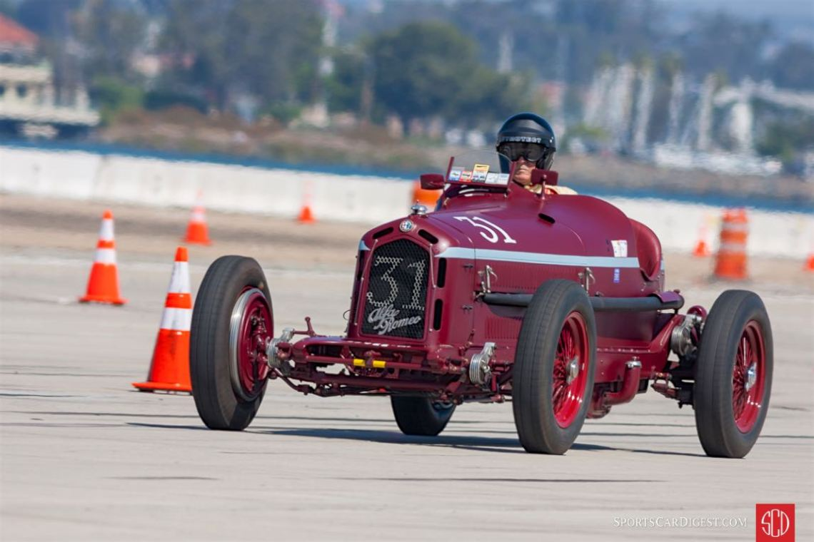1932 Alfa Romeo Monza - Peter Giddings