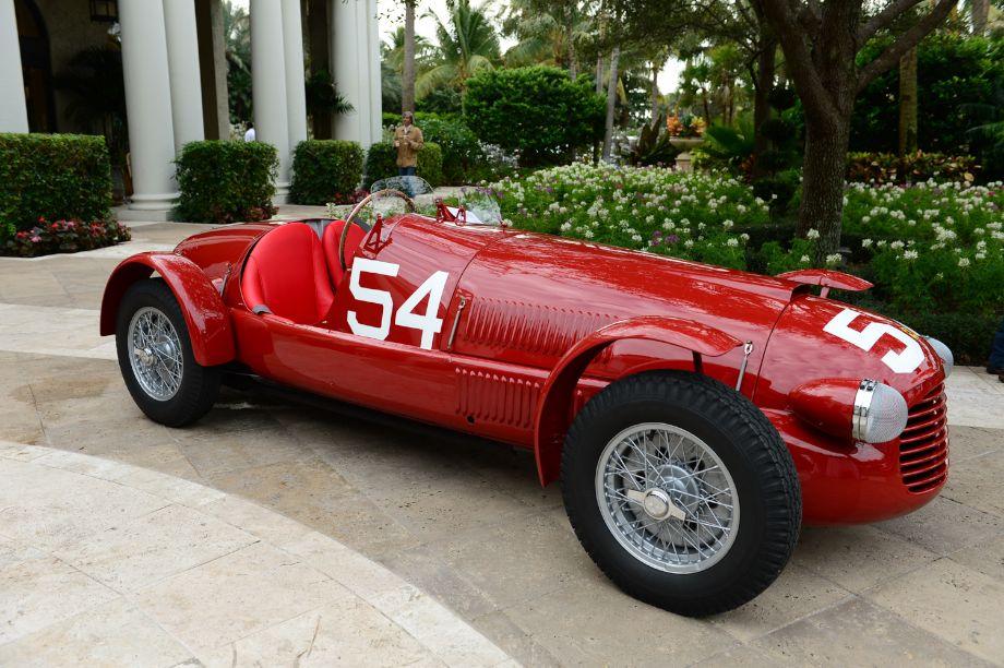 1948 Ferrari 166SC Serial 0161.
