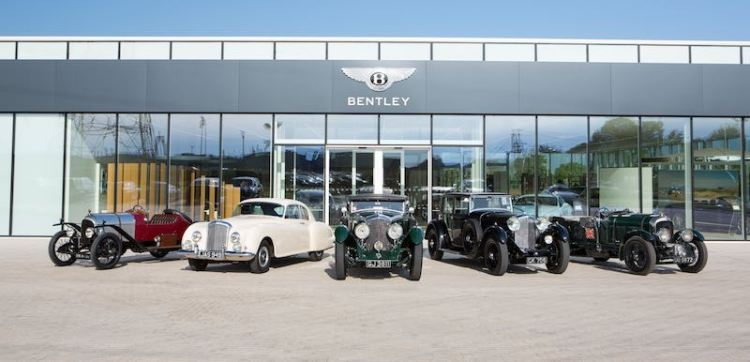 Classic Bentleys ready for 2015 summer season