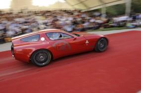 Zagato Alfa Romeo TZ3 Corsa at Concorso d'Eleganza Villa d'Este