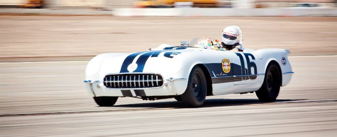 1955 Chevrolet Corvette race car
