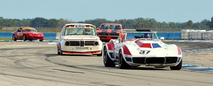 Corvette - HSR Sebring Historic Races 2011