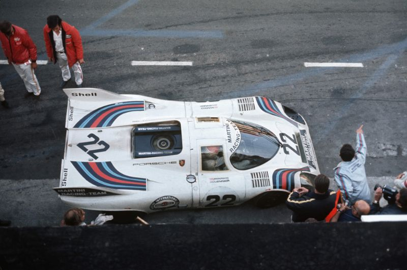 Porsche 917 KH Coupe in Le Mans 1971, Drivers: Gijs van Lennep and Helmut Marko, overall winners