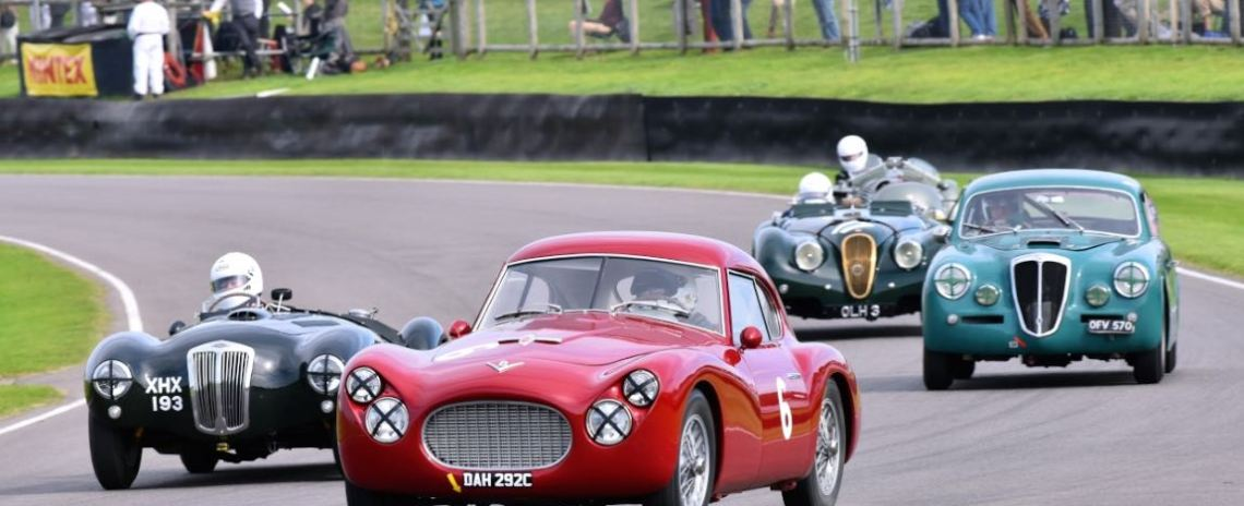 1954 Fiat 8V Berlinetta Coupe and 1951 Frazer Nash Mille Miglia