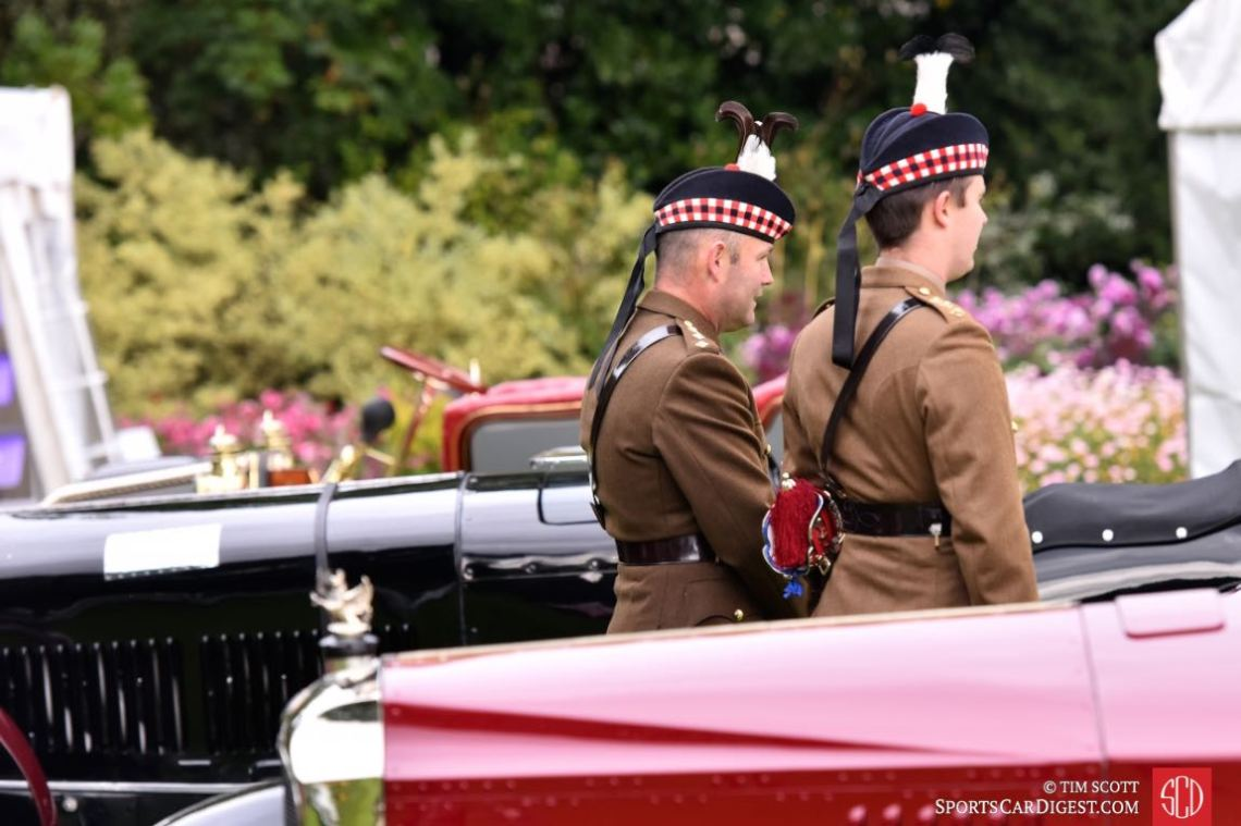 Concours of Elegance at the Royal Palace of Holyroodhouse 2015