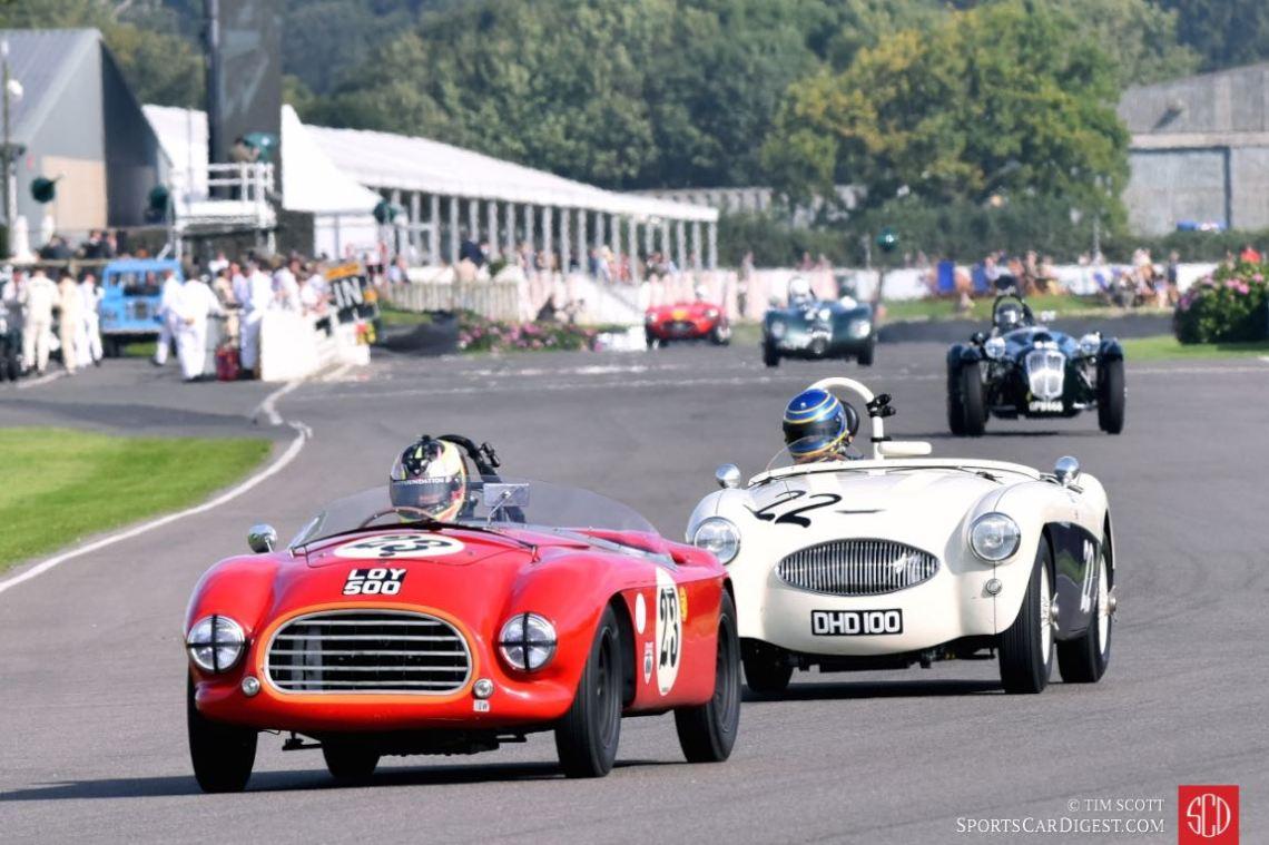 1953 Tojeiro-Bristol and 1953 Austin-Healey 100S
