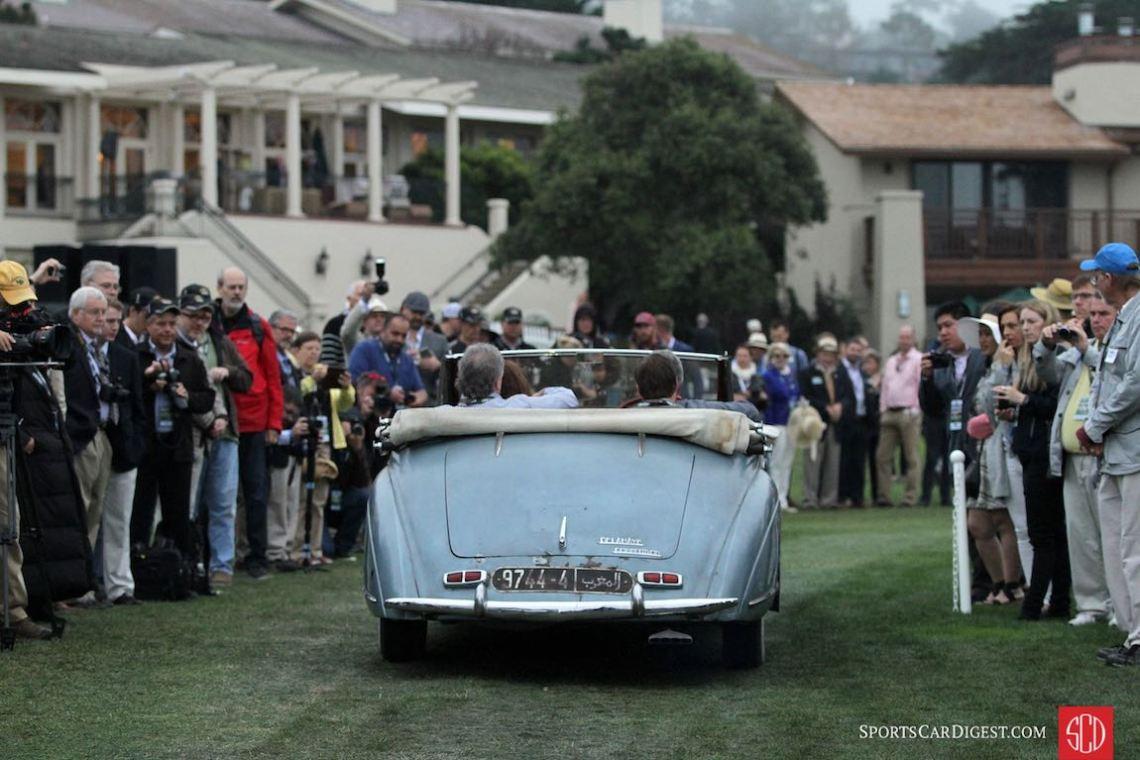 1949 Delahaye 135 M Chapron Cabriolet