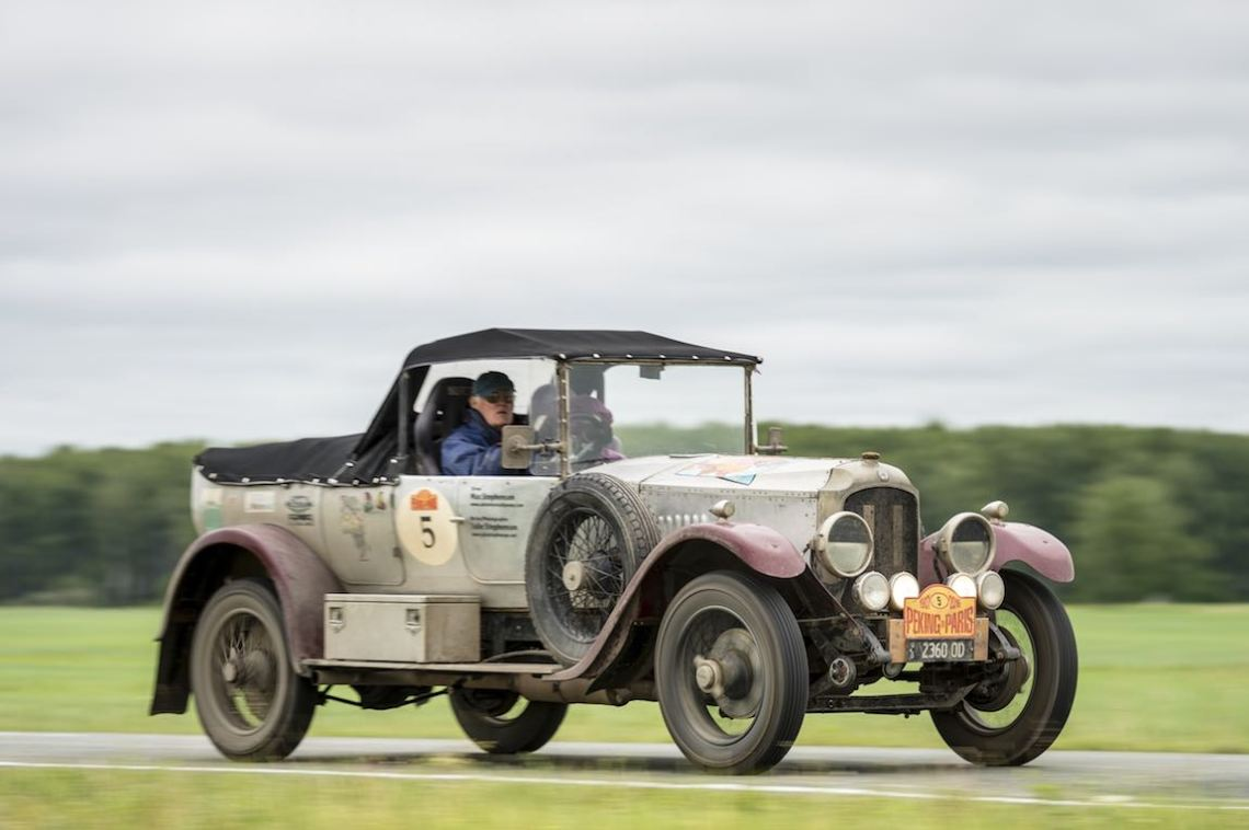 Car 05. Max Stephenson & Julie Stephenson 1923 - Vauxhall OD 23/604200, Peking to Paris 2016., Peking to Paris 2016. Day 16. Omsk - Tyumen