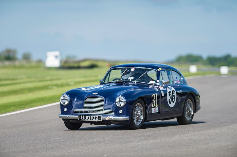 Aston Martin DB2, Benjafield's Sprint at Goodwood, May 2015