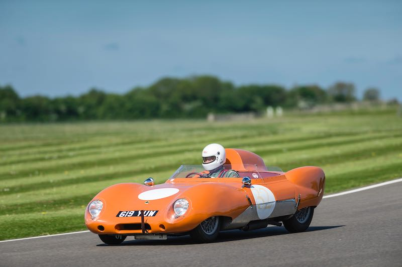 Lotus Eleven, Benjafield's Sprint at Goodwood, May 2015