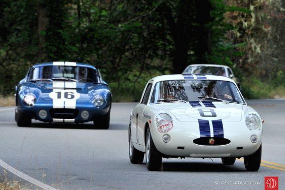 1961 Fiat-Abarth 1000 Bialbero Competition Coupe, ex-Bruce McLaren Briggs Cunningham Team Sebring 3-Hours winner