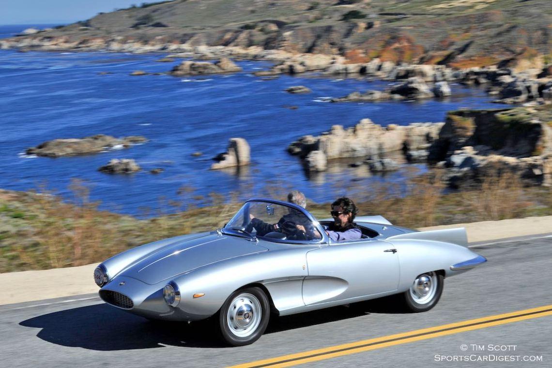 1957 Fiat Stanguellini Bertone Spider