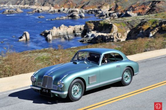 1950 Aston Martin DB2 Washboard