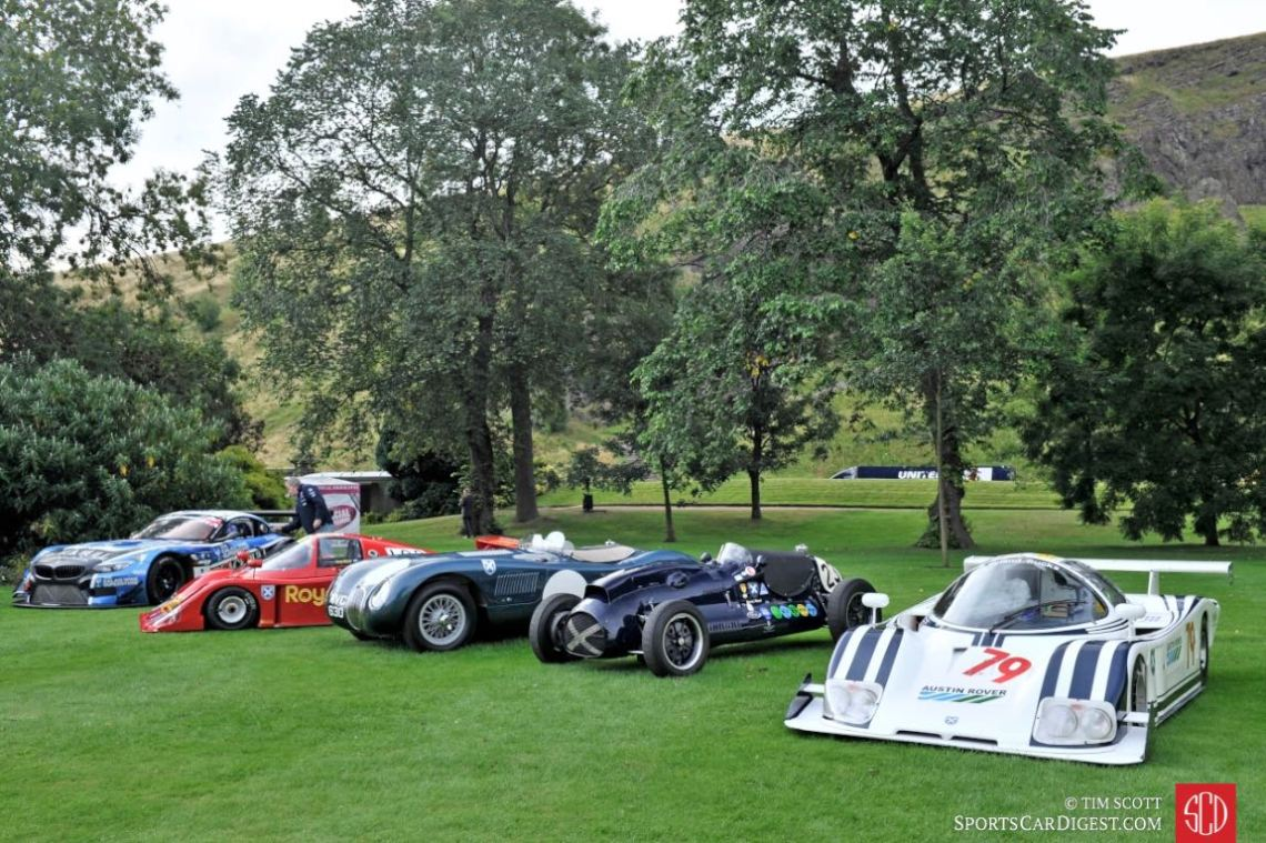 Ecurie Ecosse racers, ranging from the 1950s to the modern-day