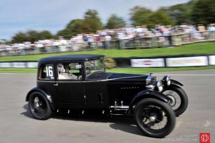 Patrick Blakeney-Edwards, 1928 Frazer Nash Saloon
