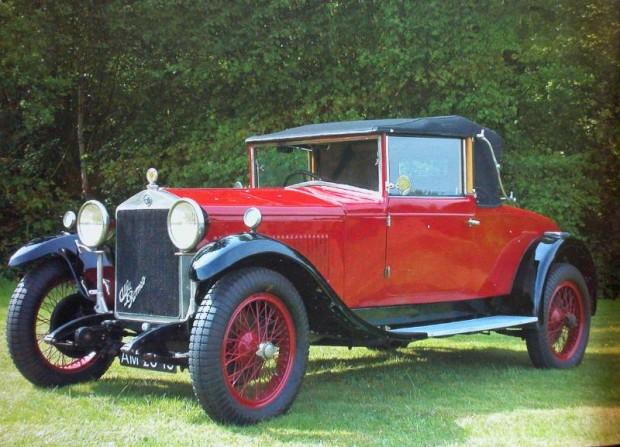 1929 Alfa Romeo 6C 1500 Drophead Coupe