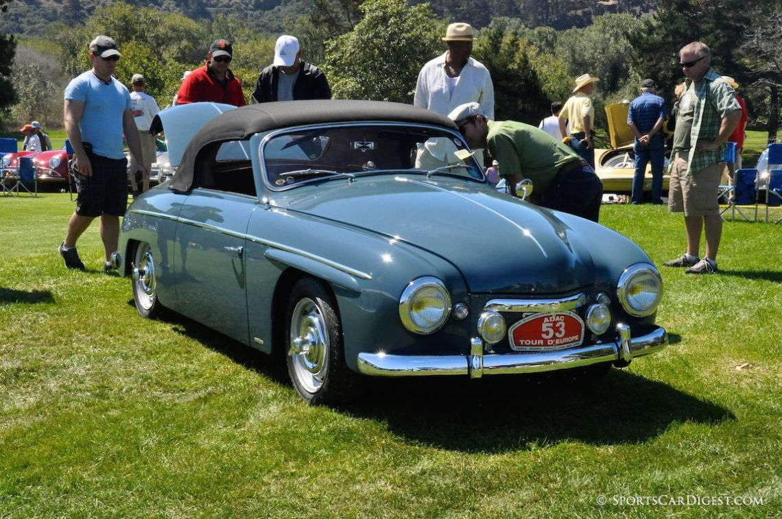 1956 Rometsch Beeskow Cabriolet at the 2014 Porsche Werks Reunion