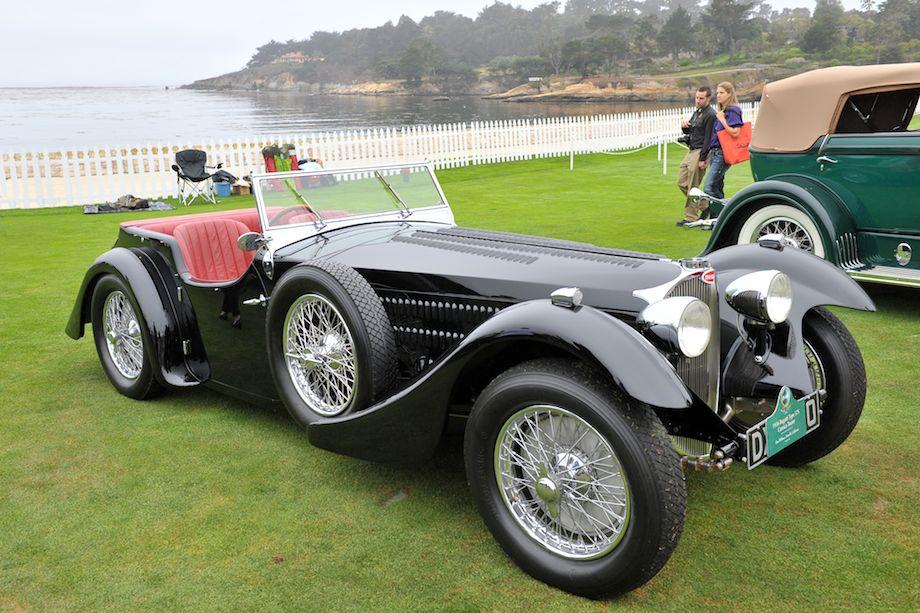 1936 Bugatti Type 57S Corsica Tourer