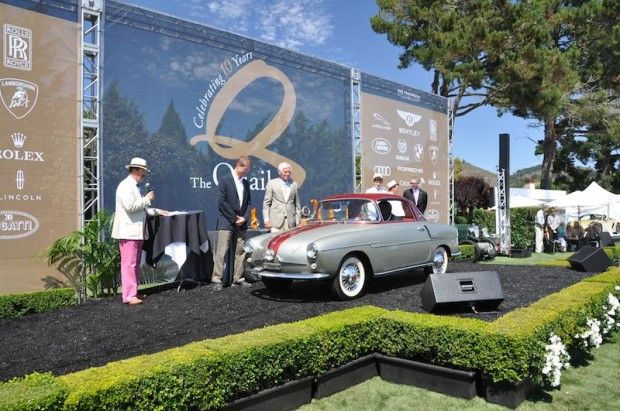 1958 Fiat 750 Viotti Sport, Donald Osborne and Frank Garofolo