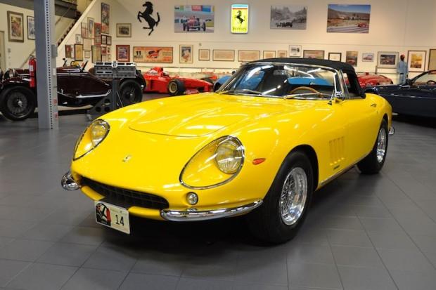1967 Ferrari 275 GTB4 NART Spider 09751