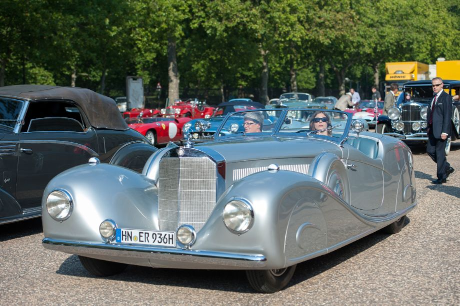 1936 Mercedes-Benz 500K Erdmann and Rossi Streamline Roadster