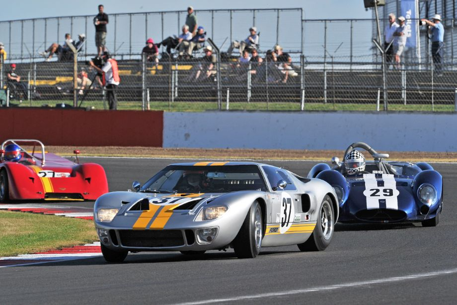 Ford GT40 and Shelby King Cobra