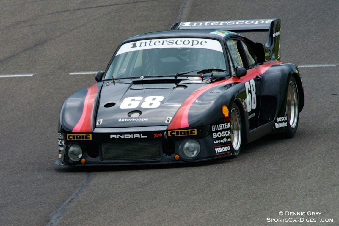 Lloyd Hawkins in his Porsche 935.