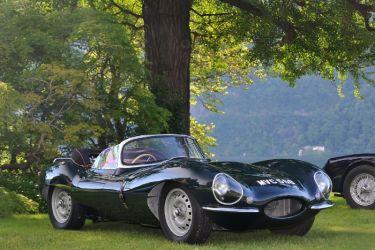 1956 Jaguar XKSS at Concorso Villa d'Este