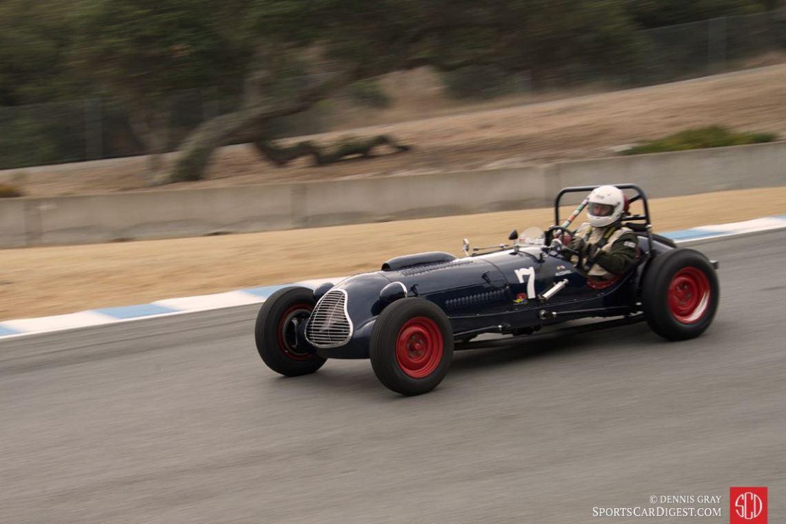Robert Manson - 1949 Baldwin Mercury Special Sports Racing.