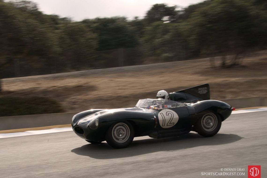 Dean Melling's 1954 Jaguar D type.