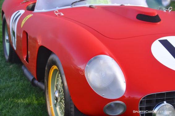 1956 Ferrari 290 MM (photo: Sports Car Digest)