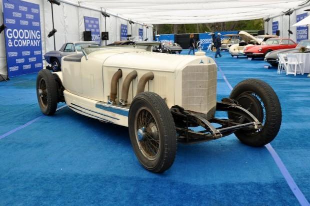 1928 Mercedes-Benz S 26-180hp Boattail Speedster