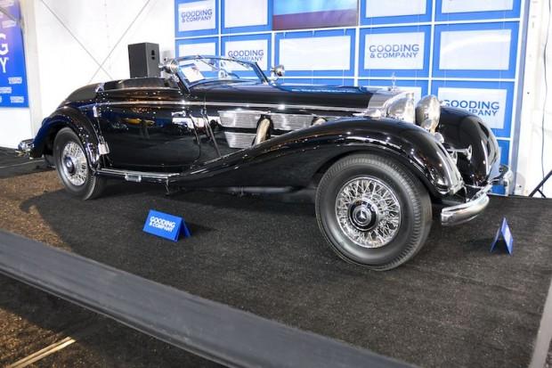 1937 Mercedes-Benz 540K Cabriolet A, Body by Sindelfingen