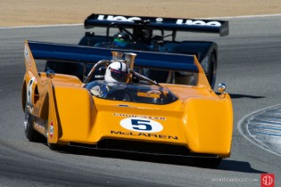 Chris Macallister 1971 McLaren M8F-1.