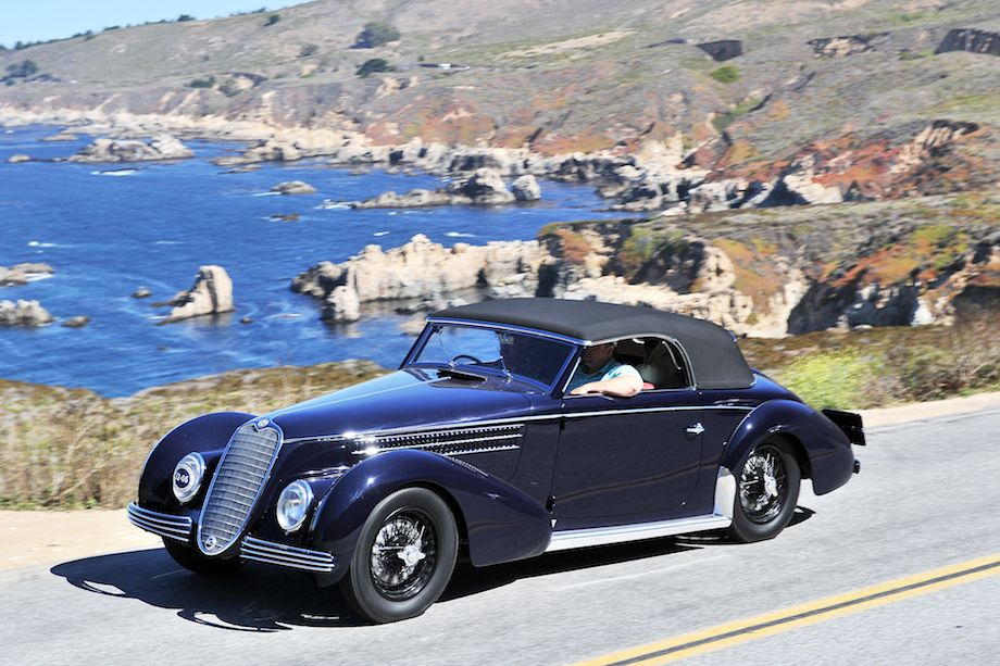 1940 Alfa Romeo 6C 2500 SS Graber Cabriolet