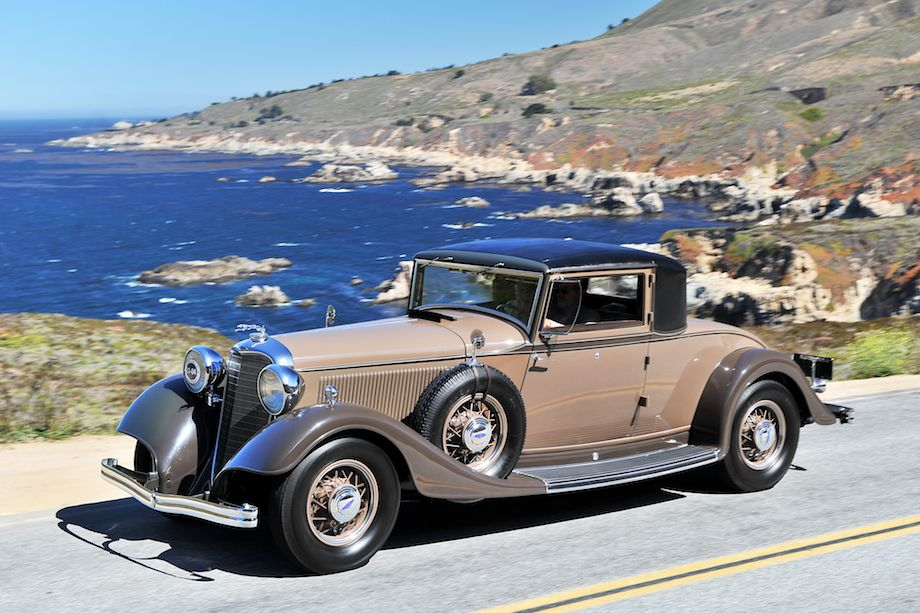1933 Lincoln KB Judkins Coupe
