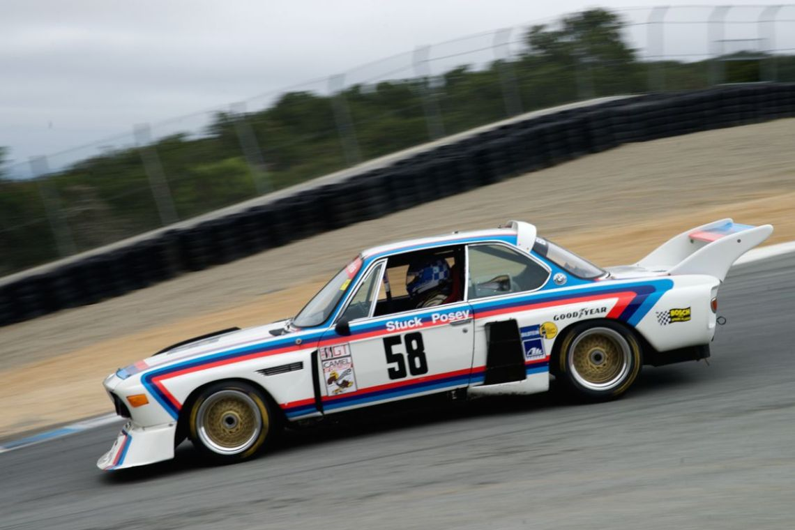 Perhaps the best sounding car of the weekend the fast 3.5 CSL BMW driven by Henry Schmitt.