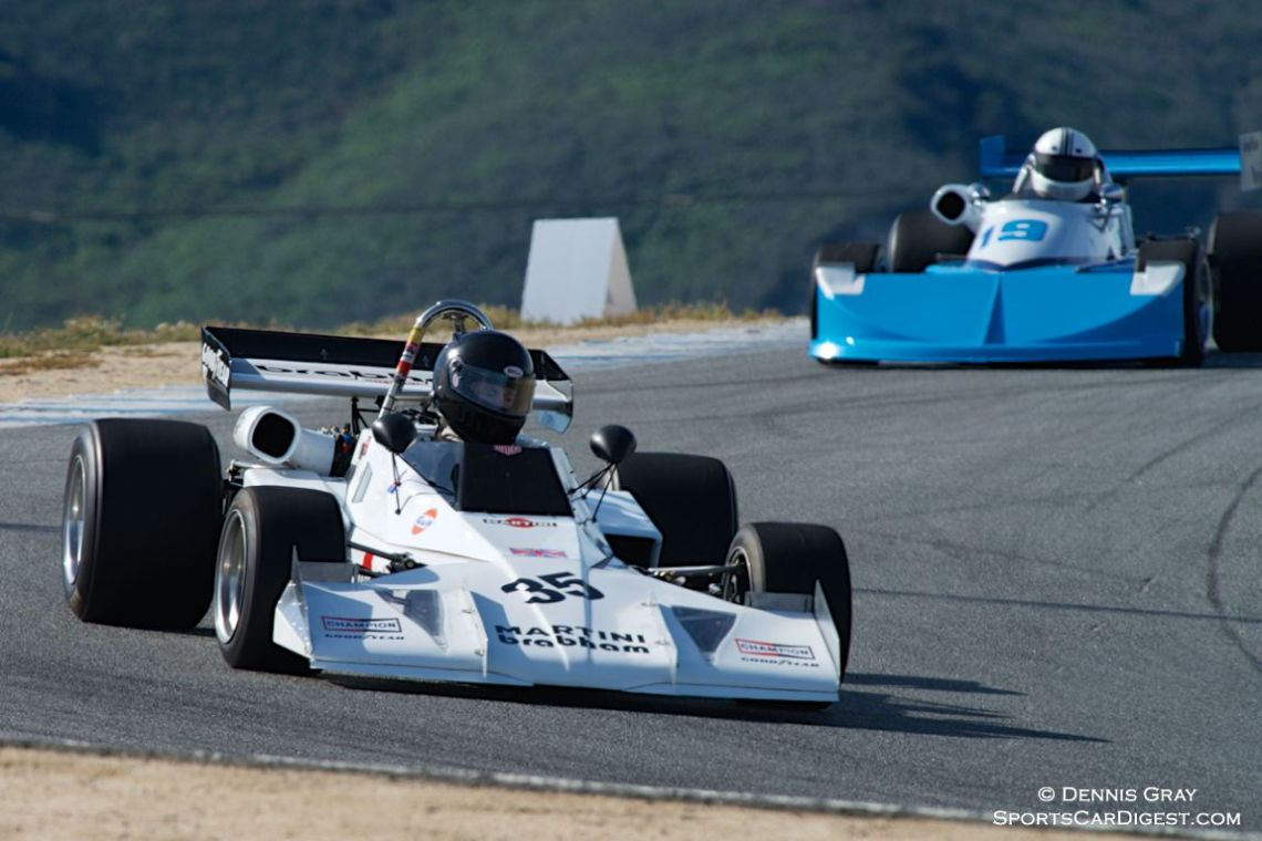Jonathan Burke's Brabham BT40.