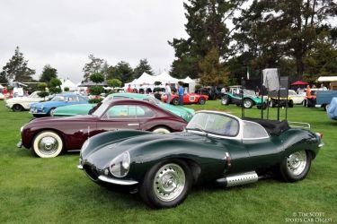 Ex-Steve McQueen 1956 Jaguar XKSS owned by the Petersen Museum