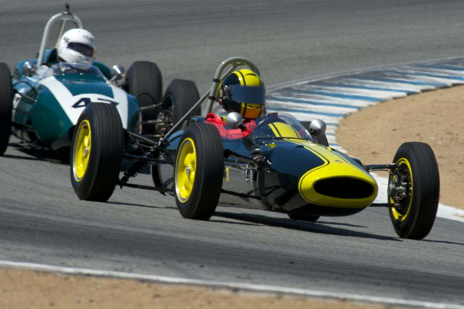 Jack Fitzpatrick in his Lotus 27.