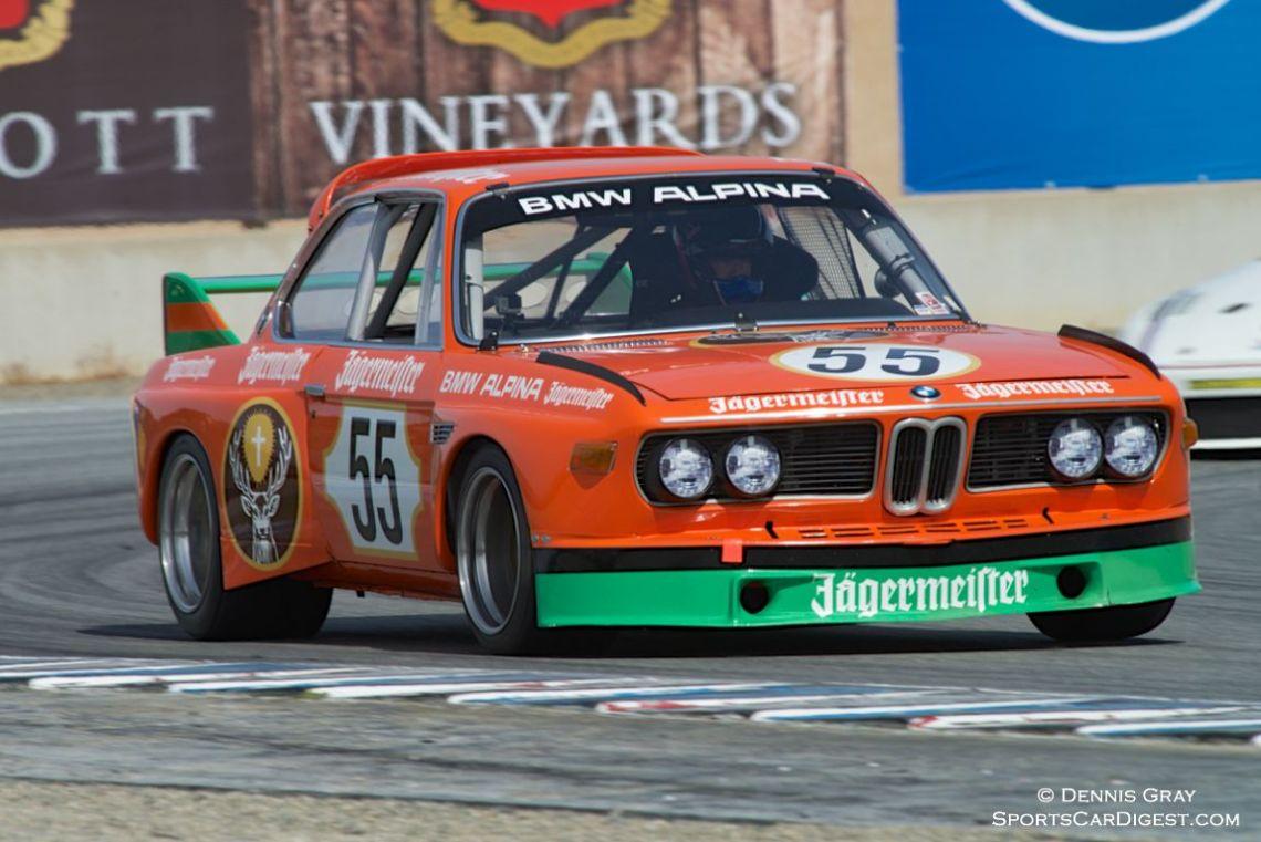 Jeff Gerken's BMW CSL.