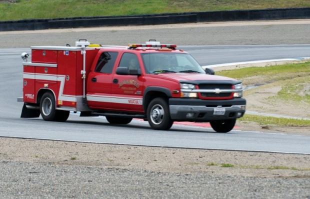 Advanced Fire and Safety Services Truck
