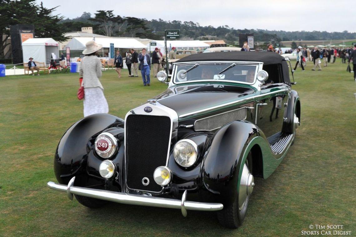 1937 Delage D8-120 Delta Sport Henri Chapron Cabriolet
