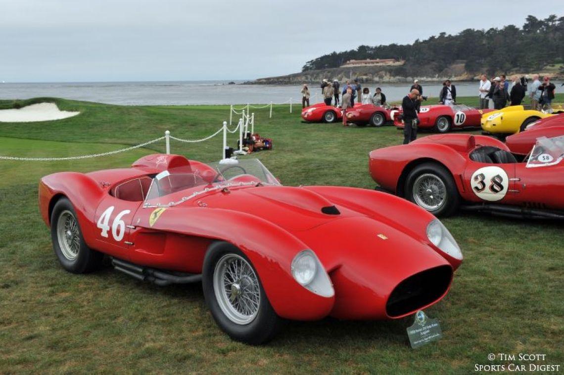 1958 Ferrari 250 Testa Rossa Scaglietti Spider 0756TR
