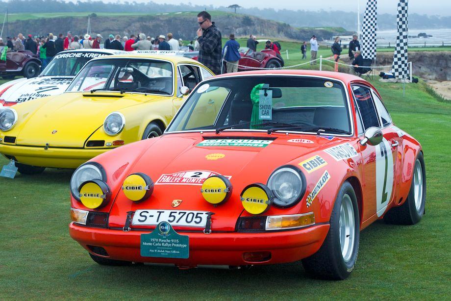 1970 Porsche 911S Monte Carlo Rallye Prototype