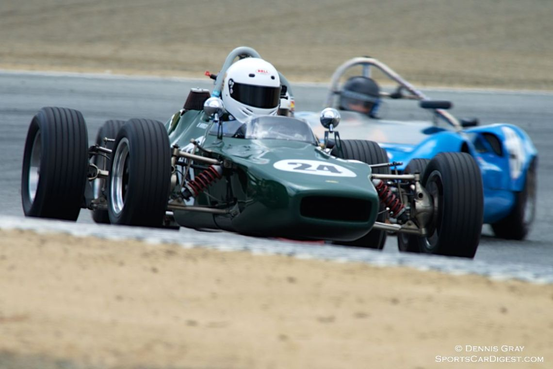 Michael Wirrick in his Lola T204.